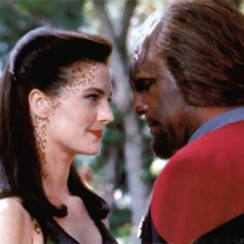 Members of two different alien species in DS9.