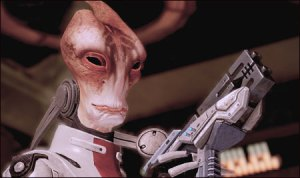 Mordin from Mass Effect.
