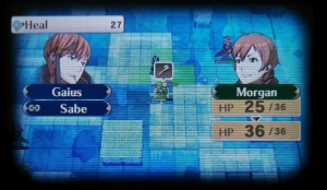 Gaius heals Morgan in battle! Their first meeting... =)