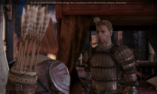 Finally, Alistair, thanks for the sympathy.