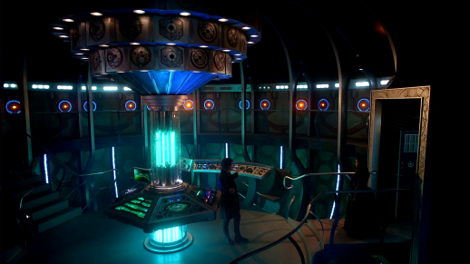 I'm not sold on the new TARDIS yet, but I'll get there...