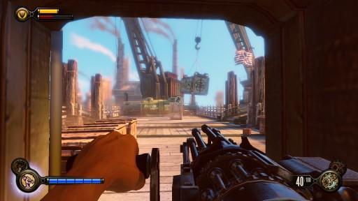 crank gun bioshock infinite