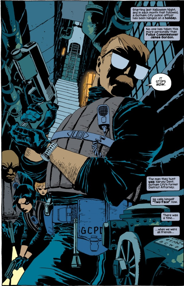 """""""Batman: Dark Victory"""" -- the first graphic novel I could not put down"""