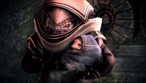 Baby-Krogan-in-Eves-arms.-