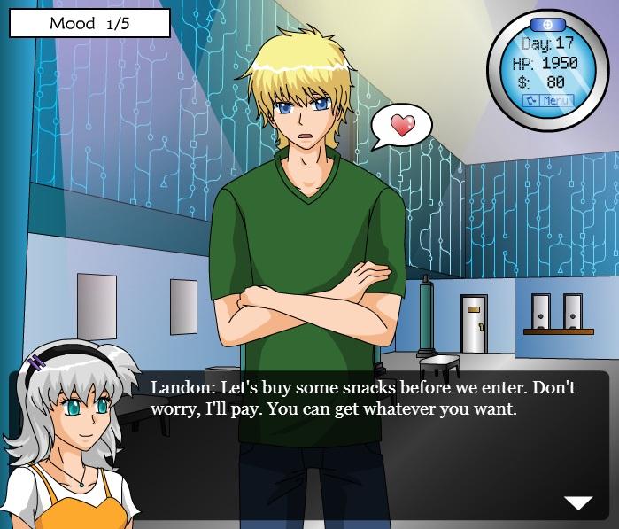 Chrono dating sim game