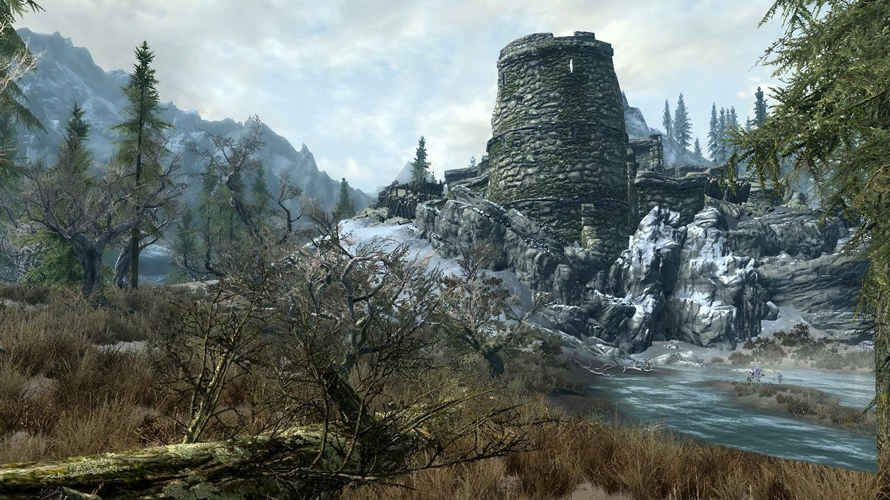 Desktop Pictures The Elder Scrolls V Skyrim Wallpapers Hd Game
