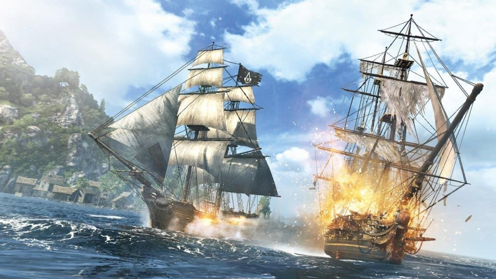 Black Flag's combat at sea is easy and fun.