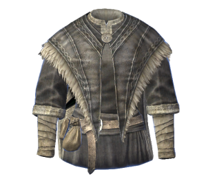 Archmage robes -- one of the rewards for completing a quest line in Skyrim.