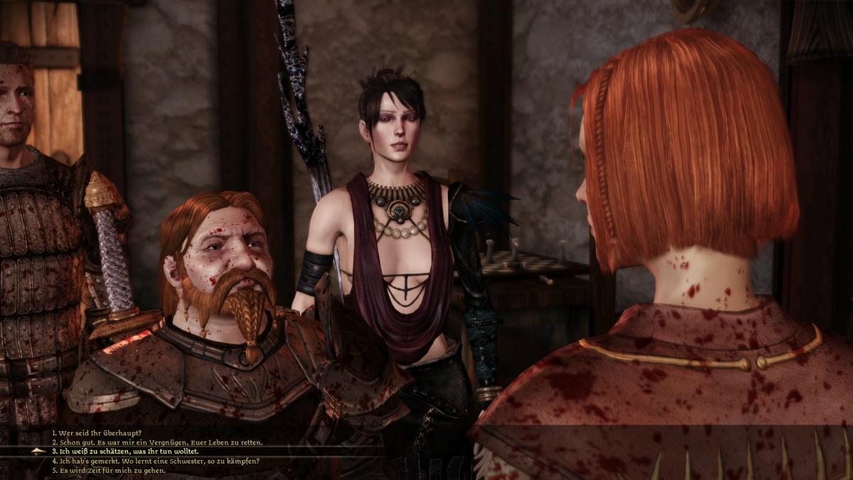 Dragon age origins best options
