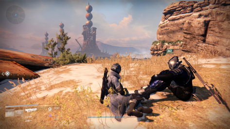 Hanging out around the Cosmodrome