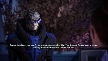 Intel from Garrus