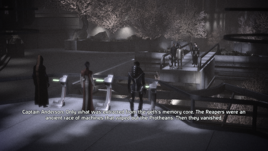 Discussing the Reapers, Becoming a Spectre