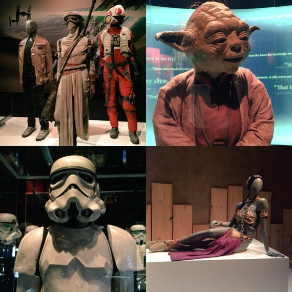 Star Wars exhibit
