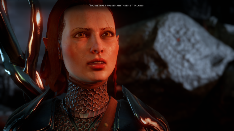 dragon age talking