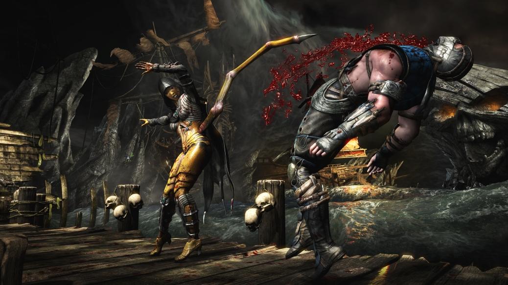 mortal kombat dvorah stab