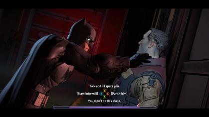Batman moral choice