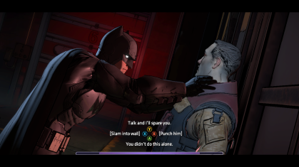 Batman moral choice