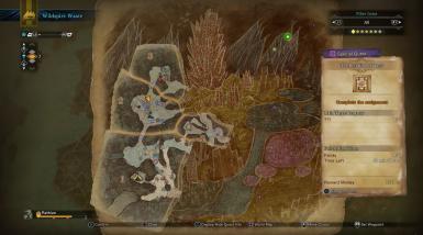 monster hunter map