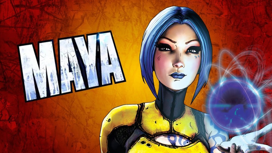 Maya in Borderlands 2