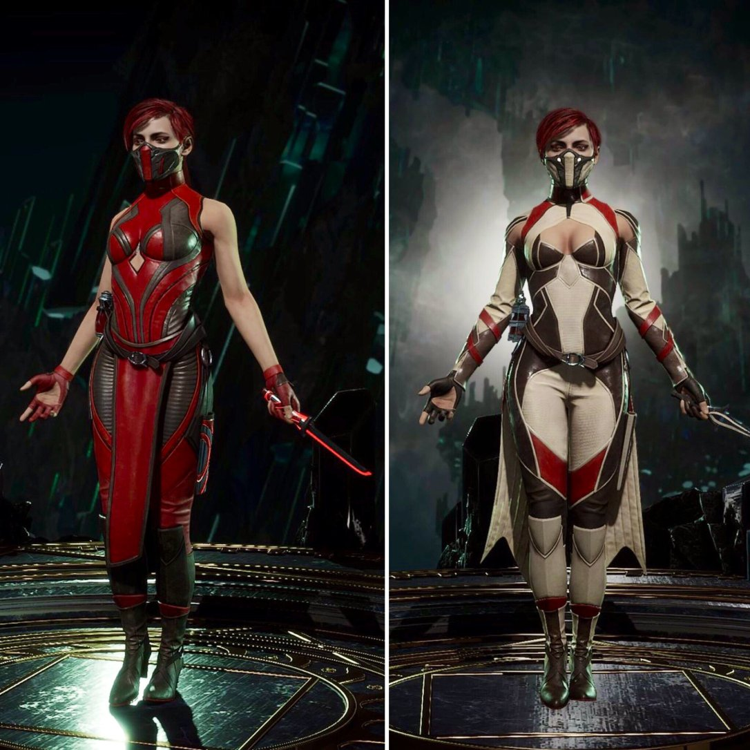 Skarlet in Mortal Kombat 11